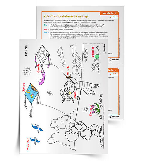 When you can ask your students to do nothing but bring in a coloring book, they will have no excuse not to complete the task. With such fun new coloring book designs, students can really get creative in terms of how they can label their coloring pages with vocabulary, as well as sneak in other concepts from the year.
