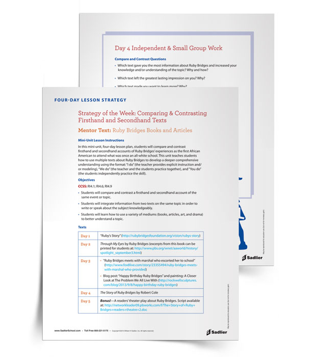 5 Free Reading comprehension skills and strategies help students stay engaged and think about what they are reading. Download a Point of View Comprehension Strategies Lesson Plan for grades 3+