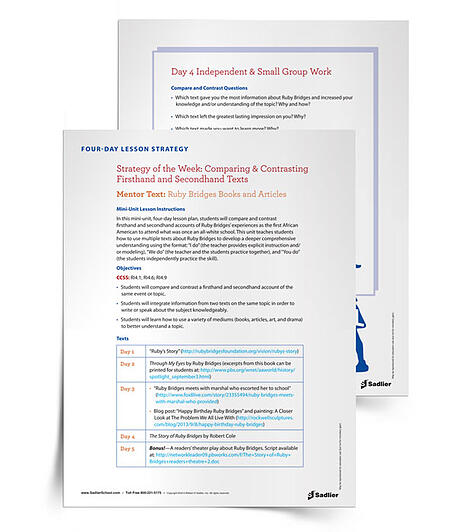 Free Printable Reading Comprehension Worksheets - Point of View Strategy Lesson