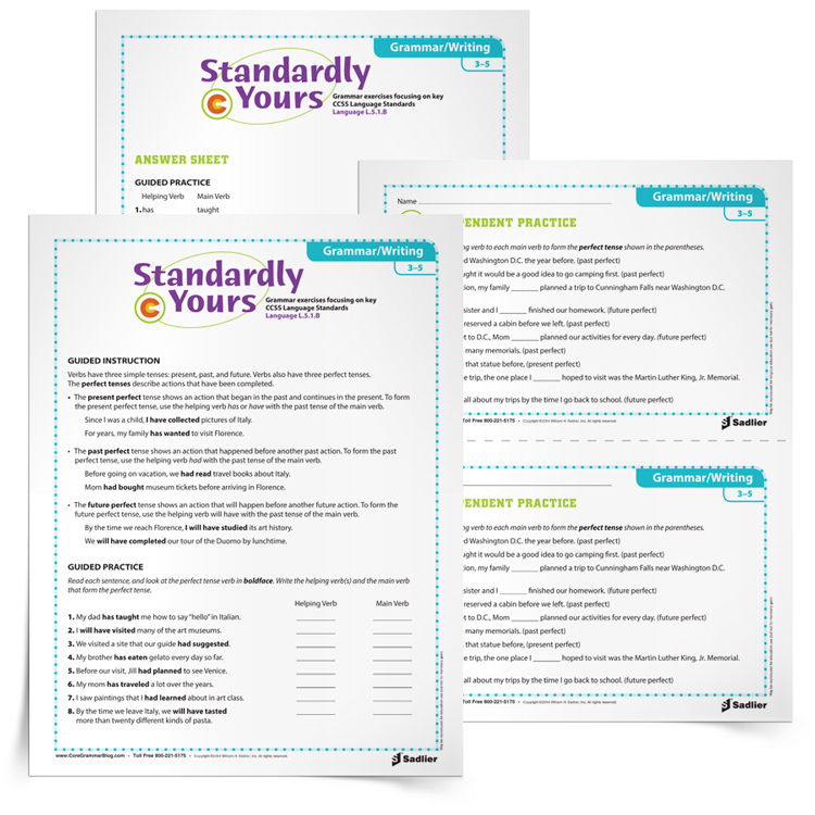 11 Elementary Grammar Worksheets That Will Improve Students' Writing. Perfectverbtenseselementarygrammarworksheets750px. Worksheet. Simple Grammar Worksheets At Mspartners.co
