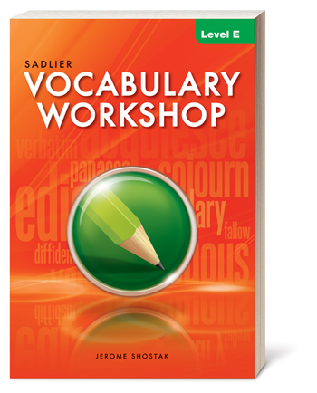 Vocabulary Workshop Grades 6-12+