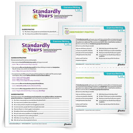Comma Practice Worksheets And Anchor Chart For The Classroom