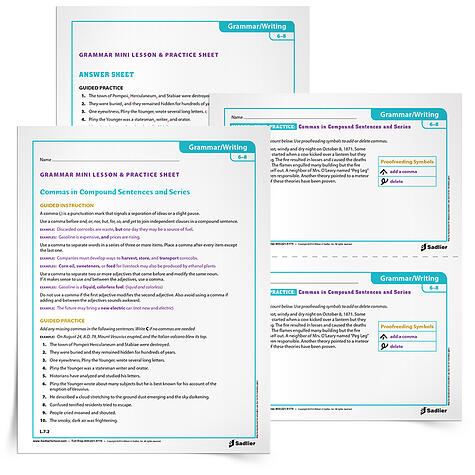 29 Printable Grammar Worksheets That Will Improve Students Writing