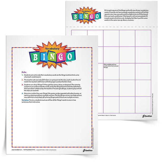 Overall, for me, playing the Bingo Vocabulary Game is a great way to keep my students engaged with their words on the Friday afternoon or at the end of the semester. But you can play this fun vocabulary game anytime!