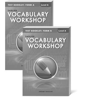 vocabulary-workshop-test-booklets