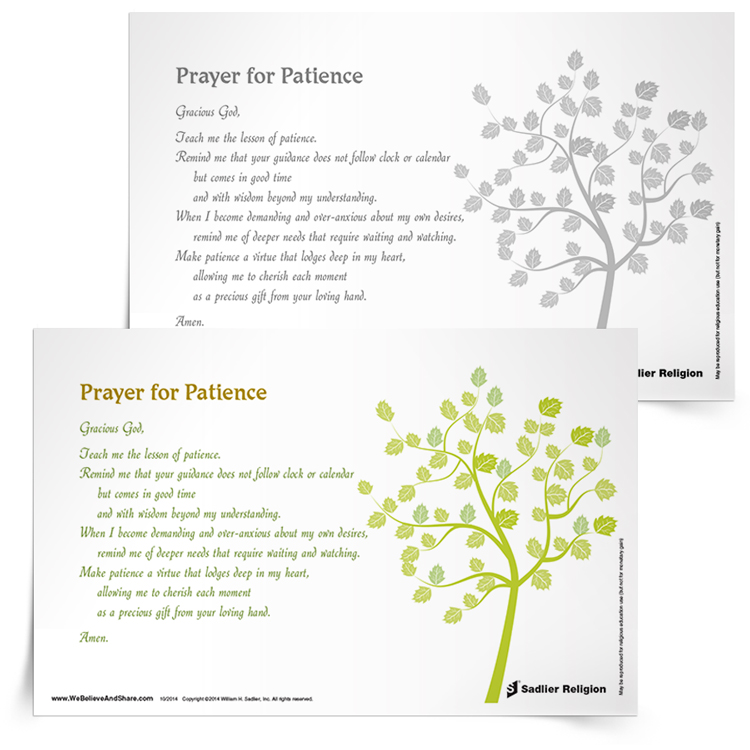 Prayer for Patience