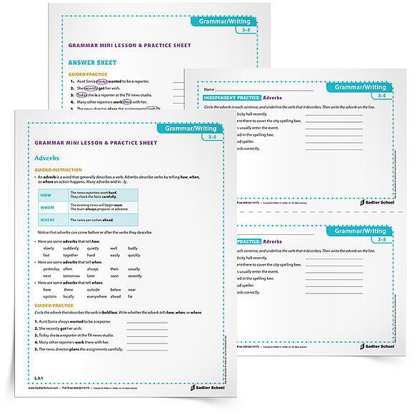 29 printable grammar worksheets that will improve students. Black Bedroom Furniture Sets. Home Design Ideas