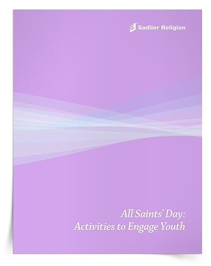 The All Saints' Day: Activities to Engage Youth eBook offers five simple suggestions for multi-sensory experiences. These activities will help children learn about and celebrate the saints, encouraging young disciples to think, move, draw, and pray. The All Saints' Day: Activities to Engage Youth eBook and the American Saints Mini Lesson are bundled into a single All Saints' Day resource.