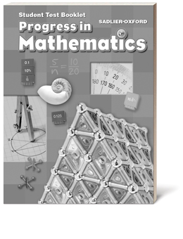 Progress-in-Mathematics-Test-Booklets