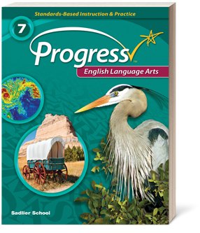 Standards Based Progress English Language Arts Grade 7