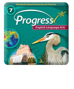 iProgress Monitor English Language Arts, Grades 1-8, Online Assessments