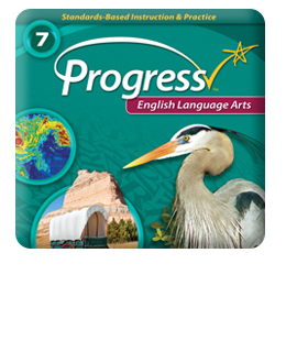 iProgress Monitor English Language Arts, Grades 1-8, Online Assessments