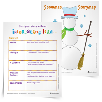 Snowman-Story-Map