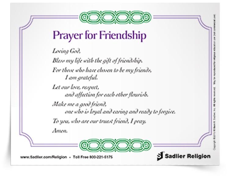 Religion pubhub resources prayers practices prayer cards prayer for friendship prayer card altavistaventures Image collections