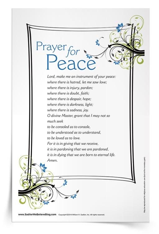 Prayer for Peace