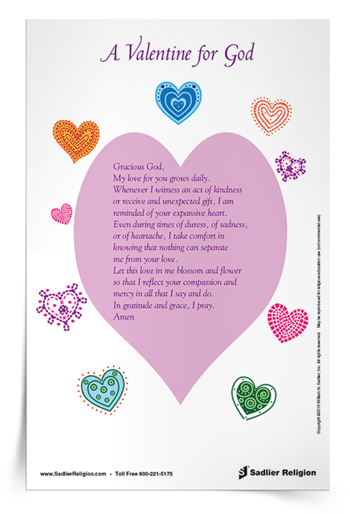 A Valentine for God