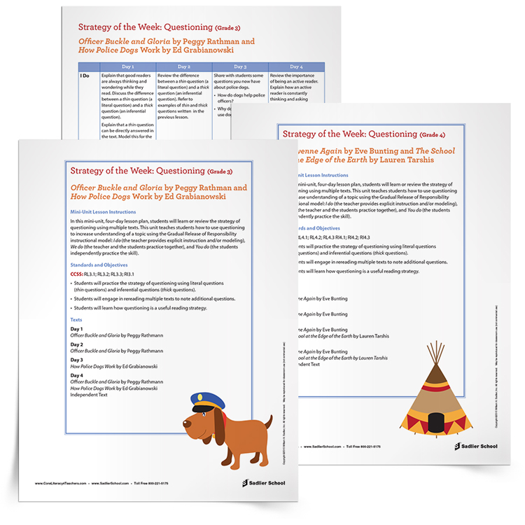 How To Teach Reading Comprehension Strategies In Your School [Free  Worksheets]