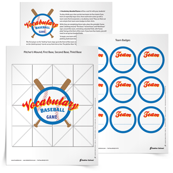 image relating to Printable Vocabulary Game named Printable Vocabulary Game titles -