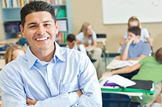 teacher and classroom
