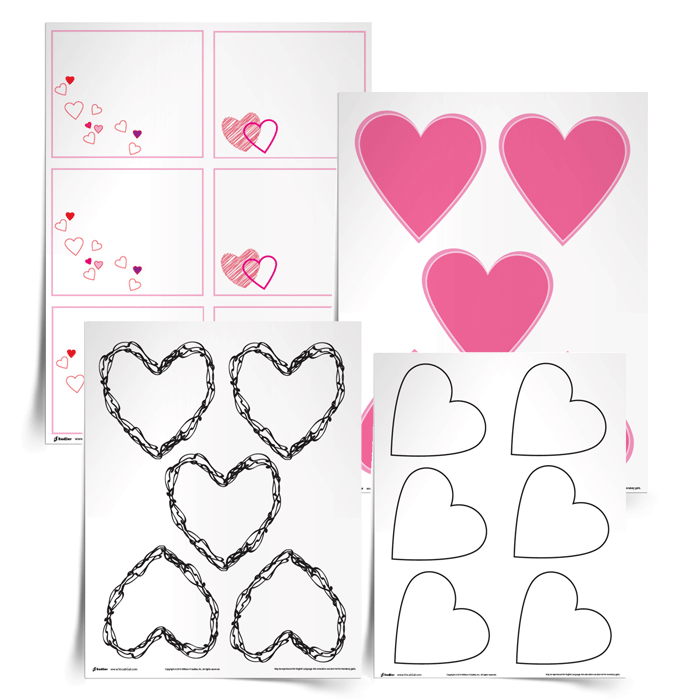 Valentine's Day is approaching and you know how much I loooove words, so I thought it would be fun to compose valentines to vocabulary words!