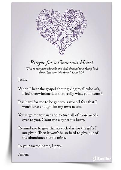 Prayer-Generous-Heart