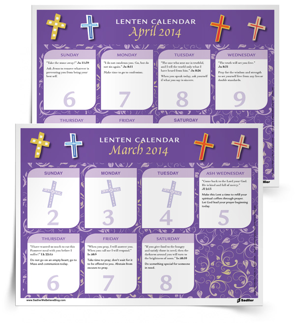 Lenten-Calendar