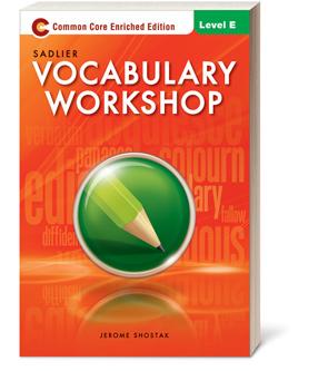 Vocabulary Workshop Grades 6-12