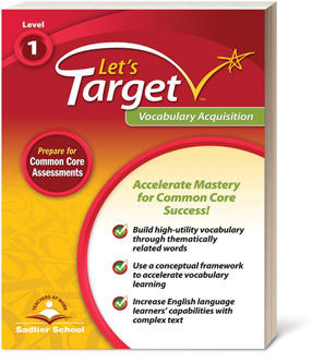 Let's Target Vocabulary Acquisition 1-6