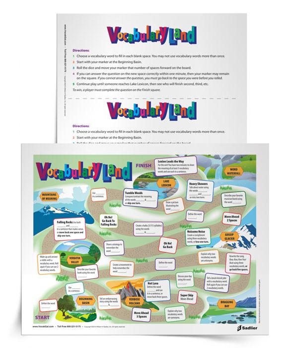Vocabulary-Game-VocabularyLand