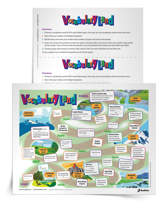 It's no secret that I'm a fan of vocabulary games. So today I am exhilarated to share my latest vocabulary activity-it is a truly magnificent board game that can be easily printed and then filled in by students!