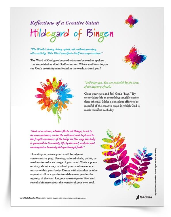 Reflections of a Creative Saint: Hildegard of Bingen