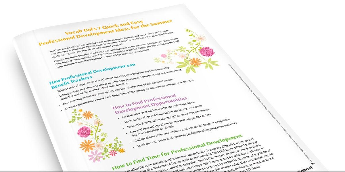7 Fun Professional Development Ideas For Teachers