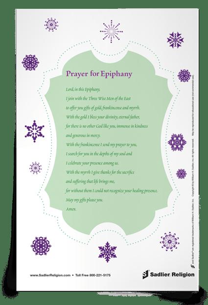 Prayer to the Epiphany