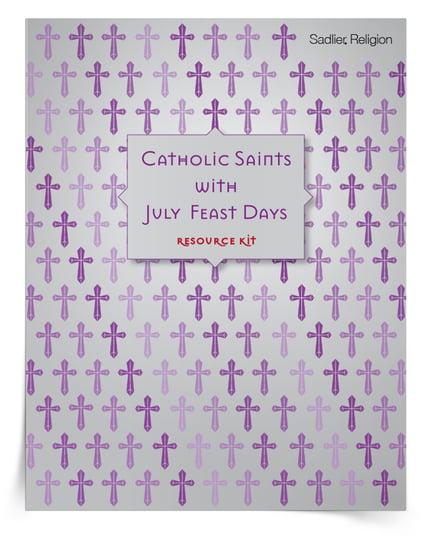 Saint Feast Days in July Kit