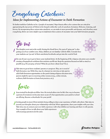 Actions of Encounter Tip Sheet