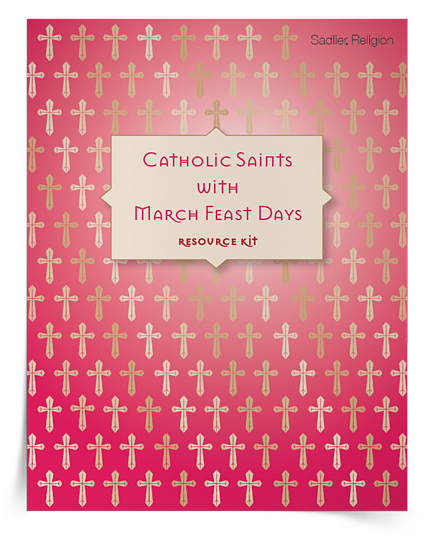 Feast Days in March Activities Kit