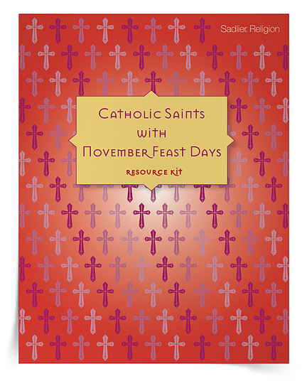 Saint Feast Days in November Activities for Catholic Kids