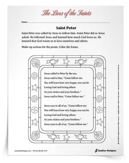 Popular Saints for Kids - St Peter the Apostle
