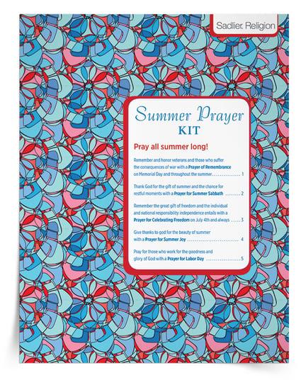 Catholic Family Activities Summer Prayers
