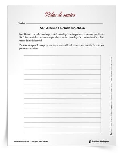 Actividades que se pueden imprimir para celebrar los días festivos de agosto - San Alberto Hurtado Cruchaga