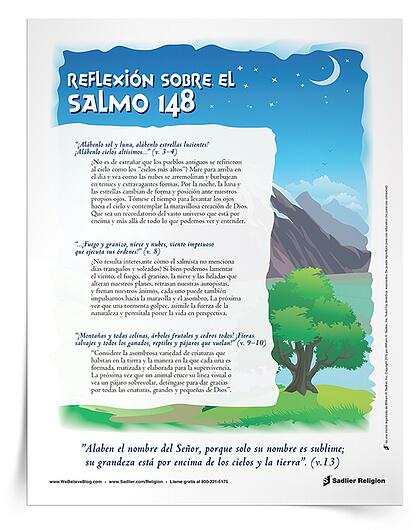 Reflexión sobre el Salmo 148