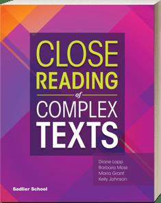 Close Reading of Complex Texts For Grades 3–8
