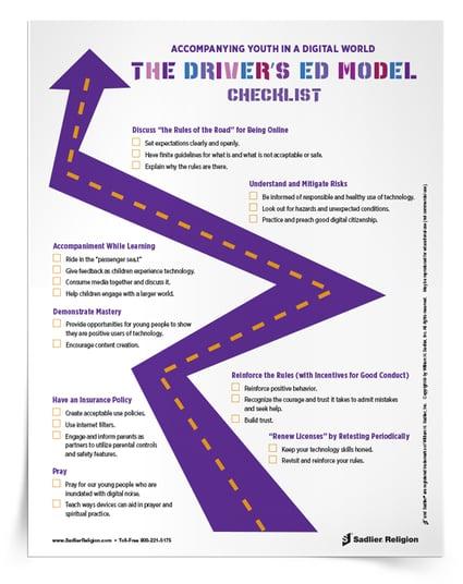 Accompanying Catholic Kids: The Driver's Ed Model