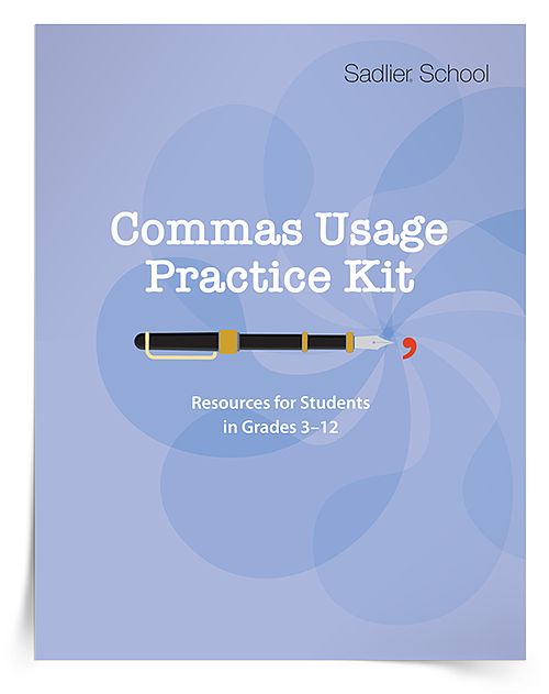 Let's explore comma usage practice and the resources available for download in the free Comma Usage Practice Kit.