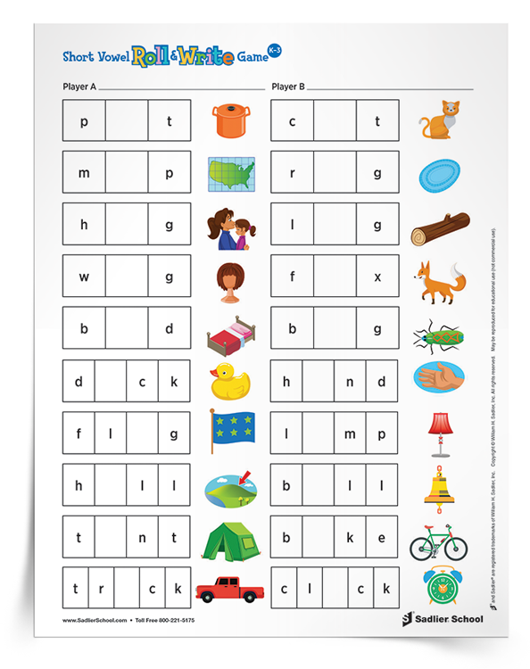 picture regarding Printable Phonics Games called 3 Printable Phonics Game titles for Early Fundamental Learners