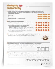 free-thanksgiving-math-activities-Thanksgiving-math-Word-Problems_Grades3-4_thumb_750px