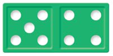 using-dominoes-five-four