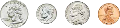 using-coins-quarter-dime-nickel-penny