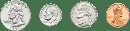 Coins-quarter-dime-nickle-penny