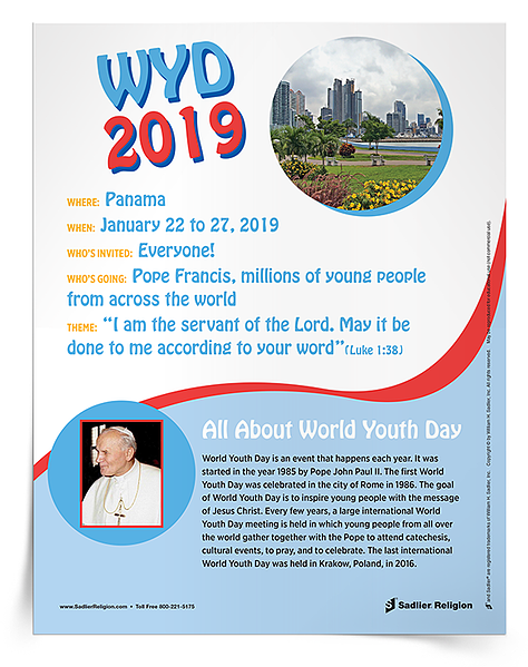 Ideas for World Youth Day 2019